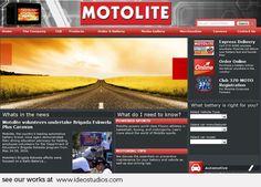 website by ideo studios Client: Motolite I Need To Know, Website, Design Development, Seo, Studios, Web Design, Design Web, Website Designs, Site Design