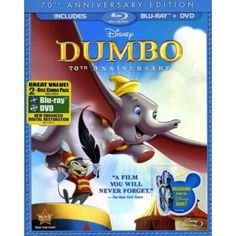 Dumbo (70th Anniversary Edition) (Blu-ray + DVD))