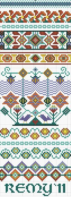 This freebie is released under my copyright, and for your personal stitching pleasure only. It is not released for any commercial use. Guatemalan embroiderers produce beautifully happy text...