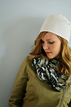 PERUSPIPON KAAVA JA OMPELUOHJEET - Ideoiblogi Beanie, Women's Fashion, Sewing, Diy, Beanies, Hat, Fashion Women, Dressmaking, Couture