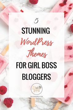 Get ready to choose the perfect theme for your WordPress blog. Make your blog pretty!