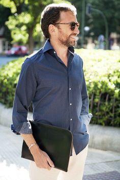 Borja Borrero with Mendocino Documents