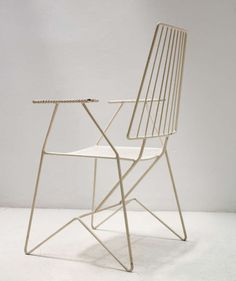 Set Of Four 1950u0027s Outdoor Chairs