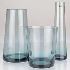 Vintage WMF 3 Vasen Set TRIO Wilhelm Wagenfeld 1958 50er turmalin Terzett H2D