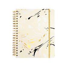 [monogram] ban.do 17 month large agenda - marble (blonde), metallic