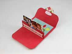 gift card holder that pops up