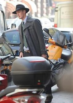 Pierre Casiraghi of Monaco    He looks like a detective from the 40's!