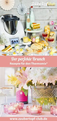 Brunch with the Thermomix®️ – the best brunch recipes for Easter for the whole family. Everyone loves brunch – with our Thermomix® ideas it will be perfect! Sweet and hearty breakfast – here is something for everyone at the family brunch. Best Brunch Recipes, Mexican Breakfast Recipes, Mexican Food Recipes, Dessert Recipes, Cheap Clean Eating, Clean Eating Snacks, Nutritious Snacks, Christmas Brunch, Easter Brunch