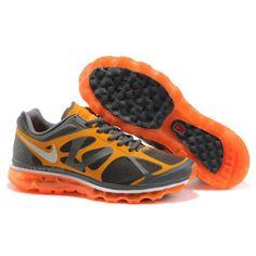 vans pour filles - New mens nike air max ken griffey jr gray/orange shoes ...