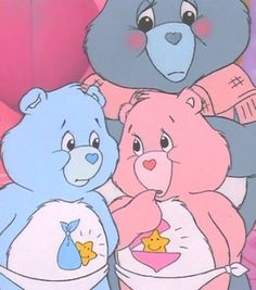 Grams Bear with Baby Hugs and Tugs Wallpaper Iphone Cute, Aesthetic Iphone Wallpaper, Cute Wallpapers, Cartoon Icons, Cartoon Memes, Care Bears Vintage, Vintage Cartoons, Drawn Art, Animated Icons
