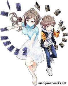 """""""Đã mắt"""" với thiết kế nhân vật và Trailer của bộ anime Hand Shakers"""