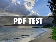 """I created """"Testing PDF"""" with Haiku Deck."""
