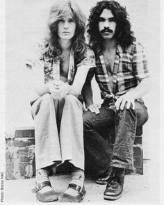 Hall & Oates.. I guess Daryl hall has awesome well known musicians come to his amazing home& make music.i hope to be one of those musicians one day