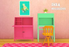 LinaCherie: IKEA office recolors • Sims 4 Downloads