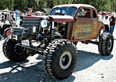Rat Rod Rock Crawler - Greaserama 2011 - Boulevard Drive-In - 9/3/11 - Kansas City by CoolValley, via Flickr