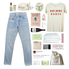 """""""never been with a boy more than six months, i couldn't do it."""" by annamari-a ❤ liked on Polyvore featuring Enchanté, Crate and Barrel, H&M, NARS Cosmetics, Origins, CÉLINE and philosoqhytags"""