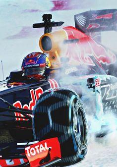 Max Verstapppen l Snow show Red Bull F1, Red Bull Racing, F1 Racing, Drag Racing, Race Car Track, Race Cars, Dirt Track, Formula 1 Car Racing, Nascar