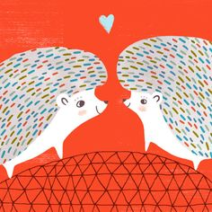 Hedgie Love by Sarah Walsh