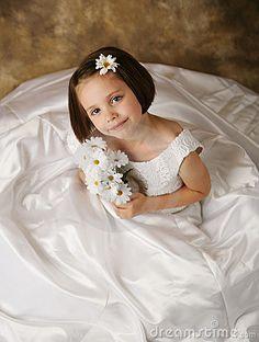 Picture of daughter wearing your wedding dress, place in frame at her wedding