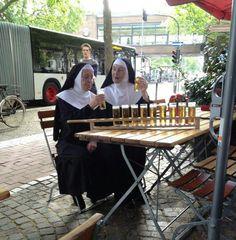Beer and Nuns.