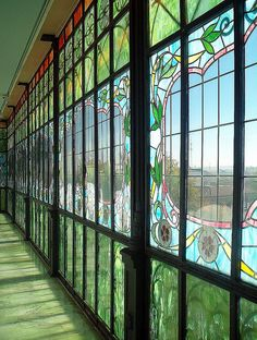 I can't believe I missed out on Casa Lis. Art Deco, Art Nouveau, Casa Lis Salamanca, Glass Installation, Spain And Portugal, Culture Travel, Spain Travel, Stained Glass Windows, Craftsman Style