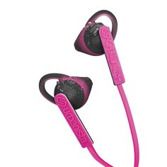 Sport earphones with a GoFit wing design, ensuring a secure fit during your…
