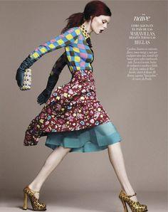 """""""Sin Limite"""" : Coco Rocha : Vogue Mexico December 2012 : David Roemer"""