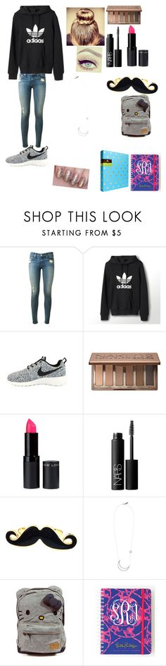 """""""Back to school the SF way"""" by i-found-wonderland ❤ liked on Polyvore featuring rag & bone, adidas, NIKE, Urban Decay, NARS Cosmetics, Hello Kitty and Lilly Pulitzer"""