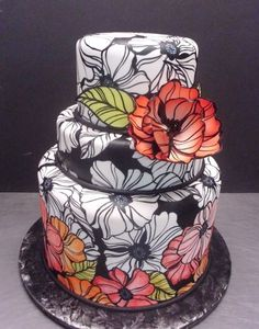 Round Wedding Cakes by Cathi-d