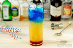 Barbados Sunrise – efektowny, warstwowy drink