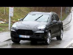 2015 New Porsche Cayenne Spy Shots HD