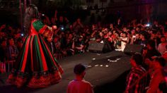 latest Afghan traditional dress presented by Aryana Sayeed