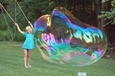 make giant bubble