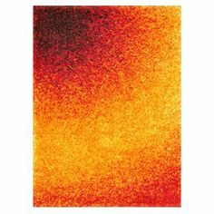 Bring textured appeal to your living room or den with this eye-catching shag rug, showcasing an exotic tie-dye motif in orange and yellow.     Product: Rug   Construction Material: Polypropylene and polyester  Color: Orange Features: Machine madeMade in Egypt     Note: Please be aware that actual colors may vary from those shown on your screen. Accent rugs may also not show the entire pattern that the corresponding area rugs have.