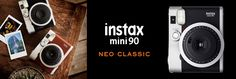 instax mini 90 NEO CLASSIC - The brown one!  <3