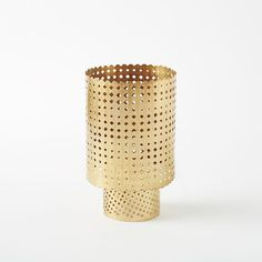 Pierced Metal Lanterns | west elm