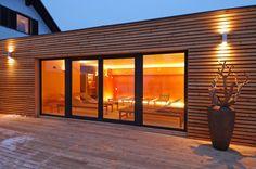 Mizarstvo Hrovat - Wooden facade - Lesena fasada Sončna hiša Banovci http://www.hrovat.net/izdelki/lesene-fasade/lesena-fasada-soncna-hisa-banovci/