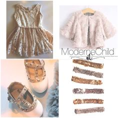 Shop the Harper Silver Dot Dress, Minky Fur Coat, Winter White Rock Studs and Sequin a Headbands today!    A picture perfect look ~ to order visit www.modernechild.com . #freeshipping #silverdotdress #kidsdress #kidscoat #furcoat #sequin #headband #kidsaccessories #rockstuds #designerinspired #stellamccartney #instafashion #holidayready #holidaygift #holidayoutfit #photography #photos #familyphotos #modernechild #minime #minkycoat