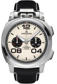 Anonimo Watch Militare Chrono Vintage Panda #bezel-fixed #bracelet-strap-leather #brand-anonimo #case-material-steel #case-width-43-4mm #chronograph-yes #date-yes #delivery-timescale-1-2-weeks #dial-colour-cream #discount-code-allow #gender-mens #luxury #movement-automatic #official-stockist-for-anonimo-watches #packaging-anonimo-watch-packaging #style-dress #subcat-militare-classic-chrono #supplier-model-no-am-1122-01-001-a01 #warranty-anonimo-official-2-year-guarantee