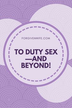 Duty sex done well can play a role in the journey toward true intimacy in our marriages—as long as we don't stop there. Marriage Relationship, Relationships Love, Marriage Advice, Healthy Relationships, Marriage Issues, Sexless Marriage, Happy Marriage, Christian Wife, Christian Marriage