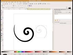 http://webmojo.co.uk  One of the big design trends of recent years have been flourishes and swirls. These look fantastic and can take a plain design to the next level. I had difficulty in finding a tutorial that takes you through all the steps needed. In the video I have used the inkscape spiral tool but the same effect can be used on most paths...