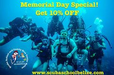 """34 Likes, 2 Comments - Scuba School Belize (@scubaschoolbelize) on Instagram: """"From our family to yours, honoring all our brave armed forces fallen. Join us and receive a 10%…"""""""