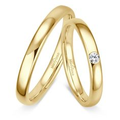 Trauring MarryGold Gelbgold 585 Mehrere Reihe 0 15 ct w si