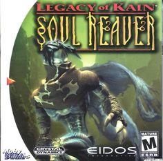 Legacy of Kain: Soul Reaver box cover art - MobyGames Playstation, Xbox, Legacy Of Kain, Arcade, Pc Engine, Nintendo, Hand To Hand Combat, Sega Dreamcast, Sega Saturn