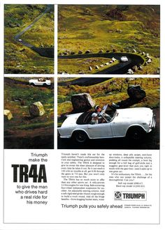 TR4A to give the man a real ride for his money