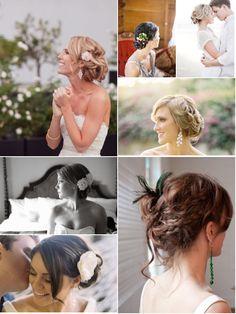buns and up hair do's are really in style