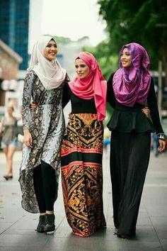 Hijabs Hijab chic hijabi styles islam is beautiful. Muslim Women Fashion, Arab Fashion, Islamic Fashion, Womens Fashion, Ladies Fashion, Modest Wear, Modest Outfits, Modest Fashion, Hijab Outfit