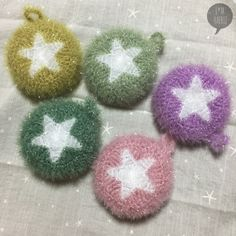 Christmas Bulbs, Bubbles, Fruit, Holiday Decor, Crochet, Blog, Home Decor, Decoration Home, Christmas Light Bulbs