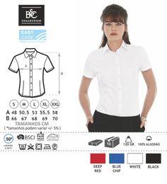 URID Merchandise -   CAMISA B&C HERITAGE SENHORA MANGA CURTA   17.96 http://uridmerchandise.com/loja/camisa-bc-heritage-senhora-manga-curta/