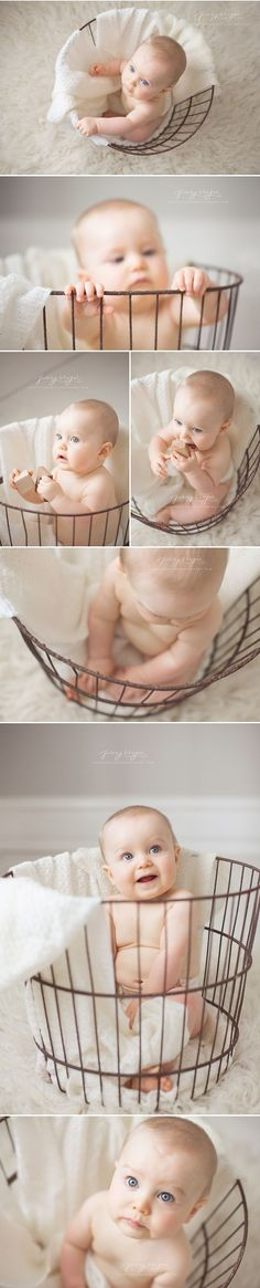 Trapped! | Beckett's Sitting Session | nashville baby photographer